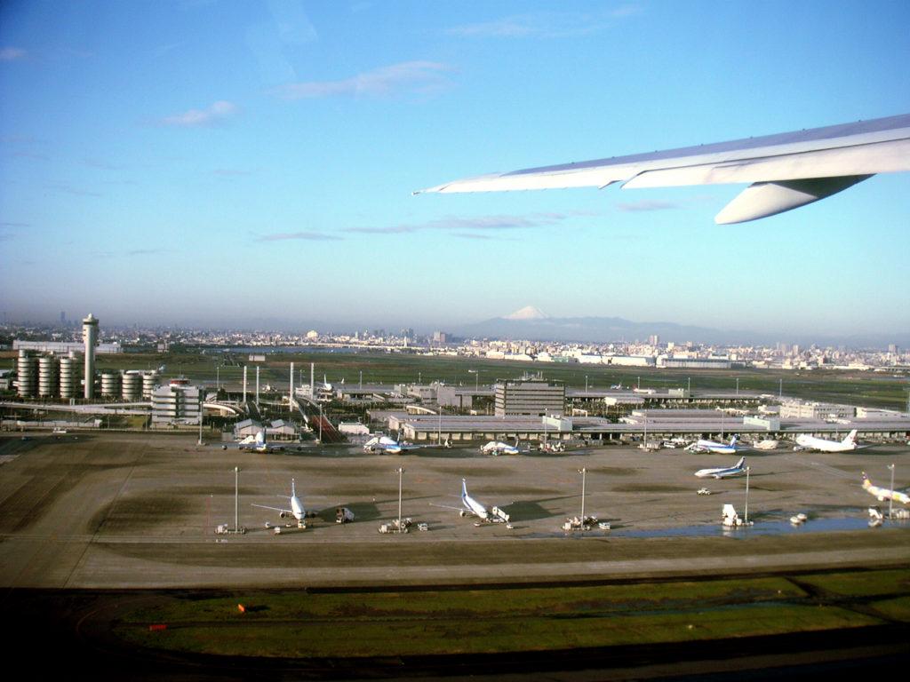 拡張する羽田空港